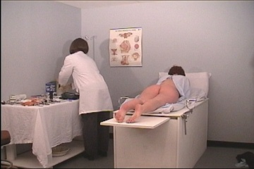 Rectal temperature suppository and enema - 1 part 1